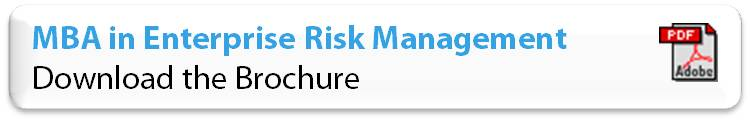 Brochure MBA in Enterprise Risk Management