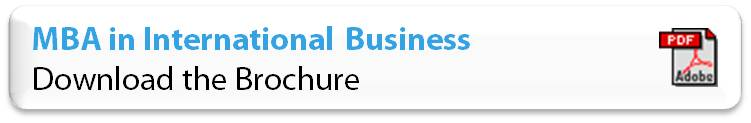 brochure mba in international business